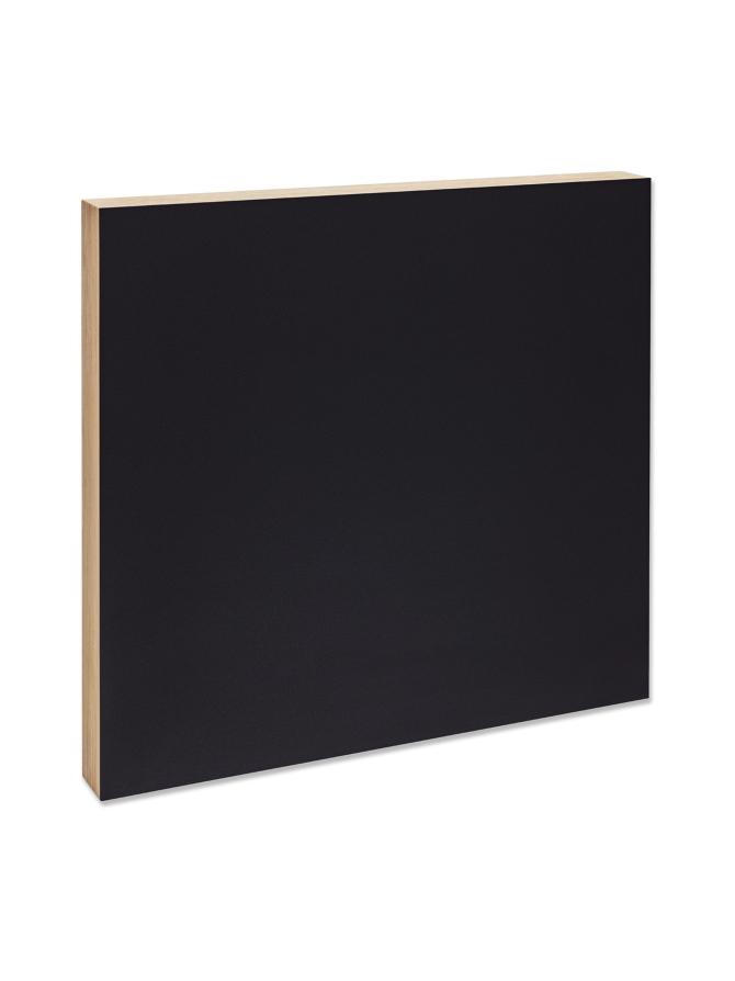 KOTONADESIGN 50x50cm Ilmoitustaulu, Musta