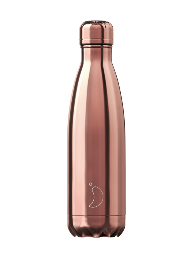 Rose Gold Chrome -juomapullo 500 ml