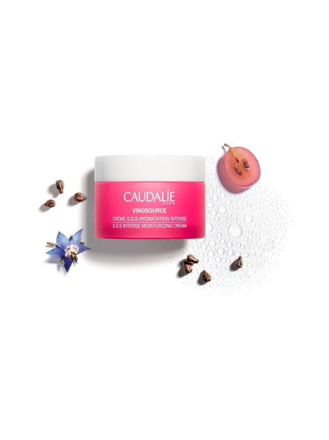 Vinosource S.O.S. Intense Moisturizing Cream -kosteusvoide kuivalle iholle 50ml