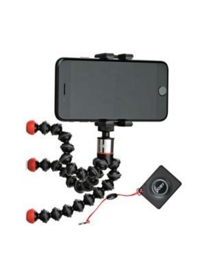 Joby Gorillapod Griptight ONE Stand Magnetic puhelinkiinnikkeellä ja Bluetooth kaukosäätimellä