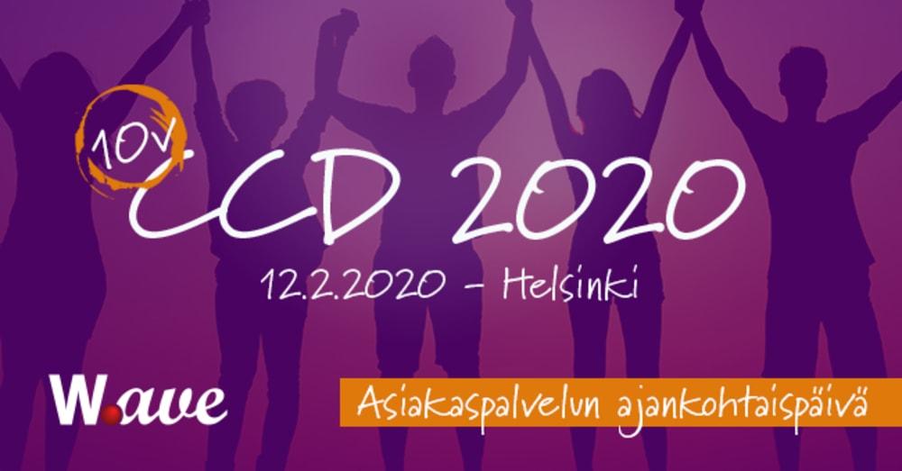 CCD2020 Asiakaspalvelun ajankohtaispäivä