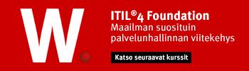 ITIL 4 - Katso seuraavat kurssit