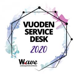 Vuoden Service Desk 2020