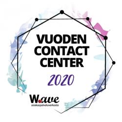 Vuoden Contact Center 2020