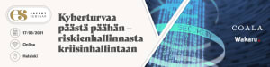 Kyberturvaa päästä päähän – riskienhallinnasta kriisinhallintaan