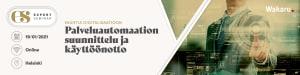 Palveluautomaation suunnittelu ja käyttöönotto