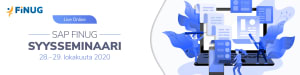 SAP Finug Syysseminaari 2020 Live Online