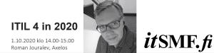 itSMF webinaari lokakuu 2020 - 1 - Roman Jouralev