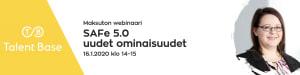 WEBINAARI: SAFe 5.0 uudet ominaisuudet