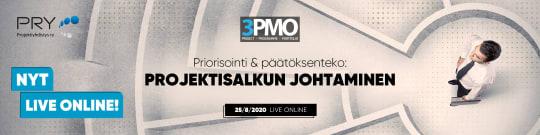 3PMO-tapahtuma – 25.8.2020