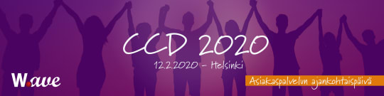 Asiakaspalvelun ajankohtaispäivä CCD 2020