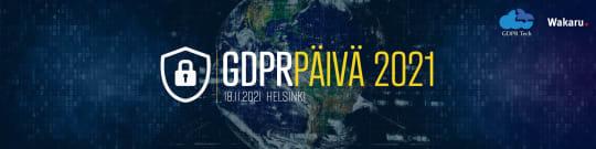 GDPR -päivä 2021