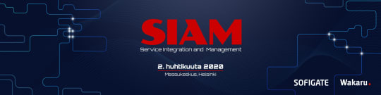 SIAM - Service Integration & Management