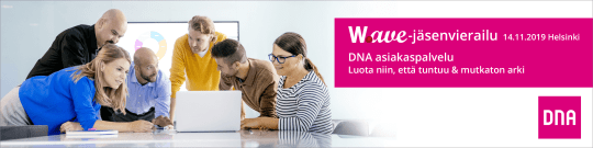 Wave-jäsenvierailu - DNA asiakaspalvelu