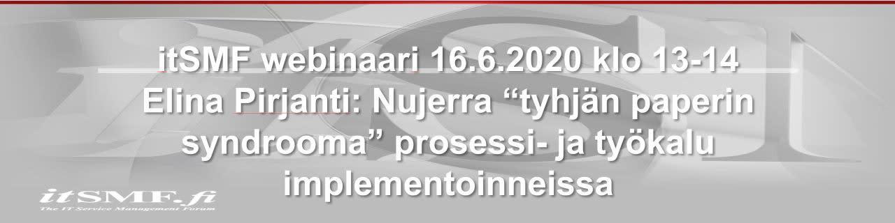 itSMF webinaari kesäkuu 2 2020