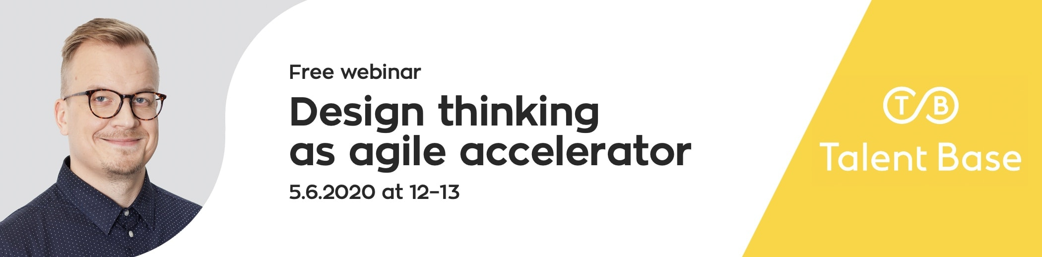 WEBINAR: Design thinking as agile accelerator