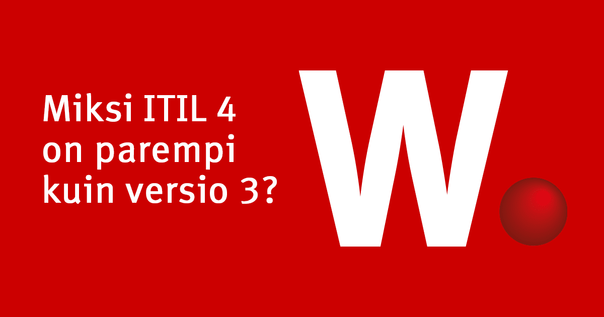 ITIL 4 blogi