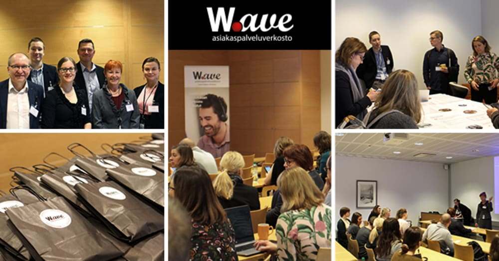 Wave-vierailu ETK asiakaspalveluun