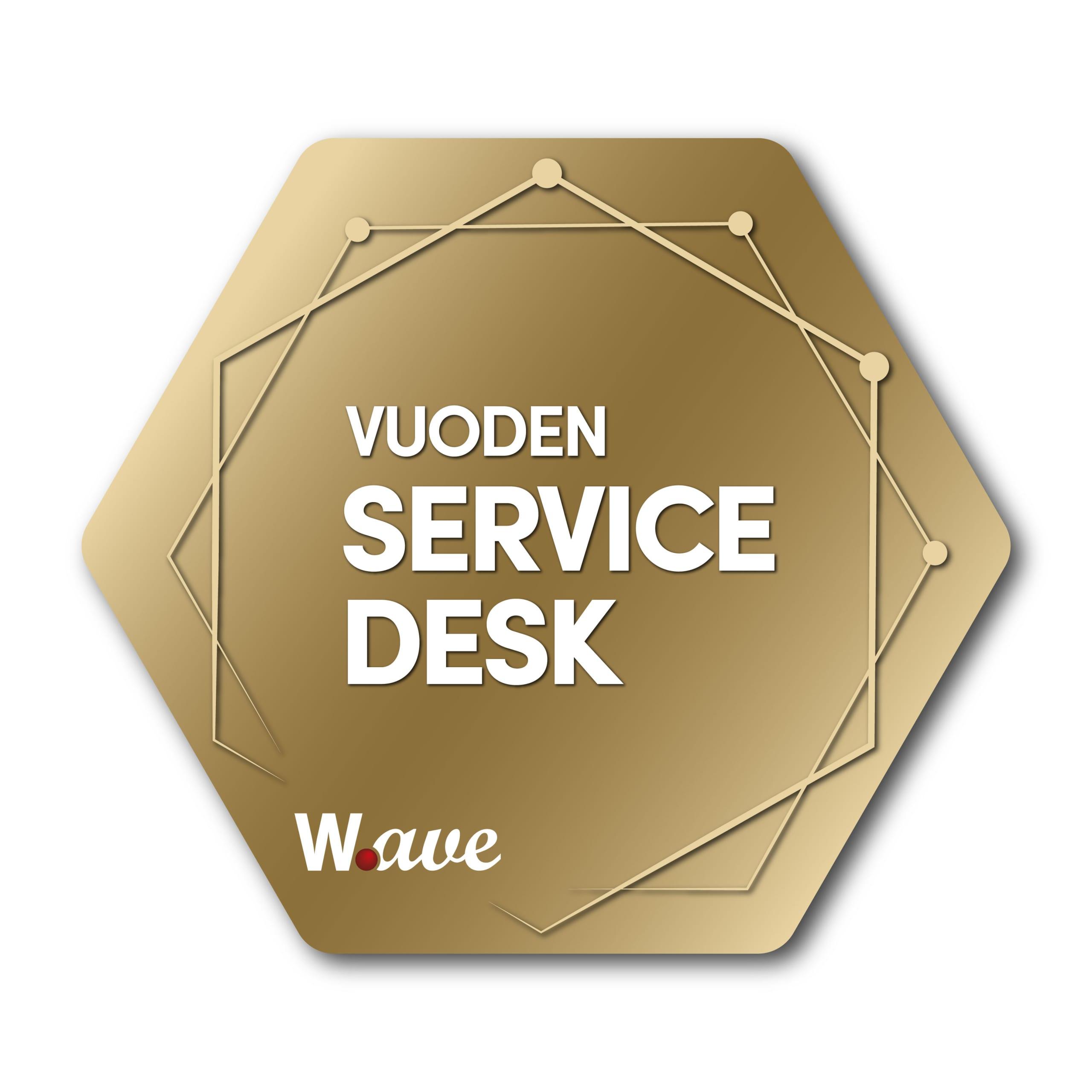 Vuoden Service Desk