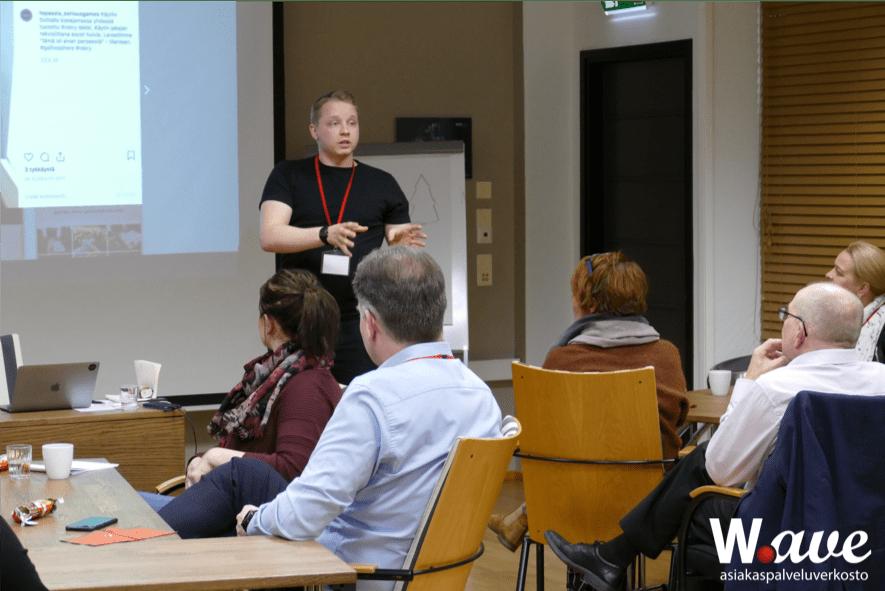 Waven asiakaspalvelun glögit 2019