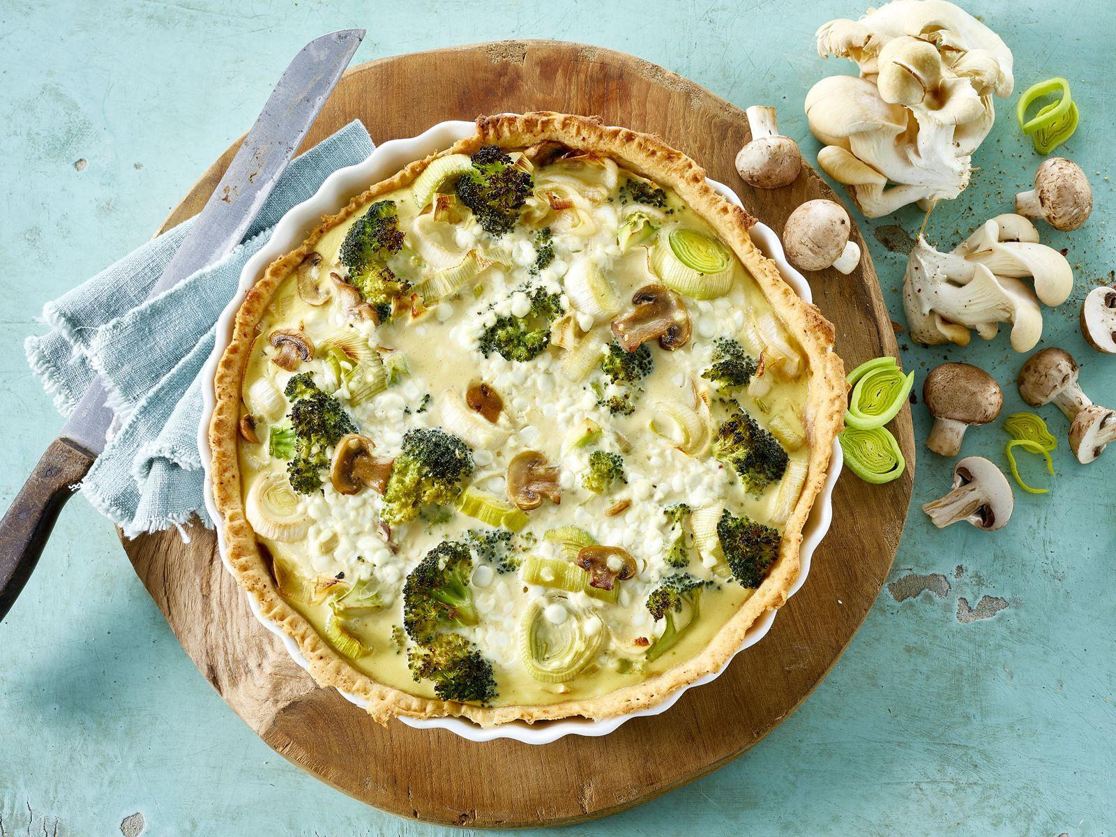 Mager pai med cottage cheese og gr nnsaker for Med cottages