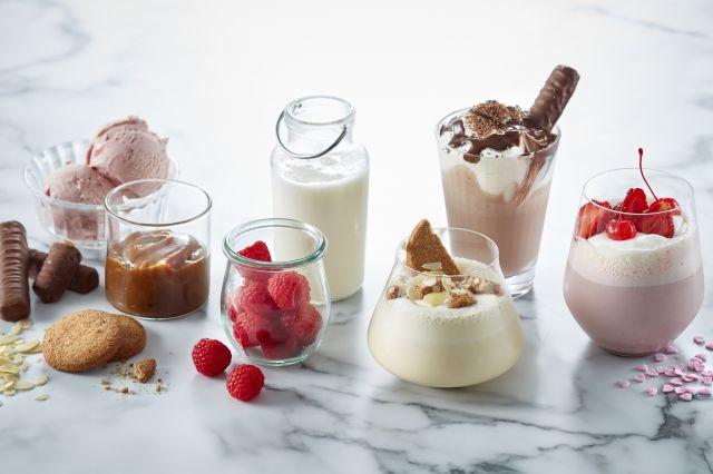 Milkshake grunnoppskrift