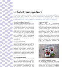 Faktaark om irritabel tarm
