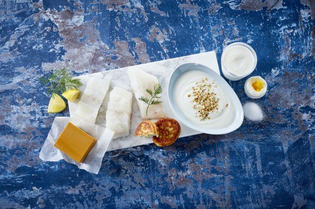Kilder til jod, meieriprodukter, fisk, egg og salt