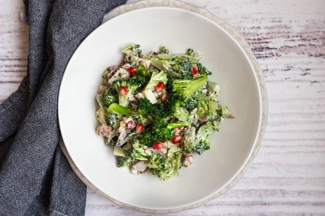 Kremet brokkolisalat
