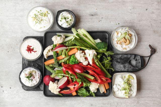Tips til enkle og gode grønnsaksdipper