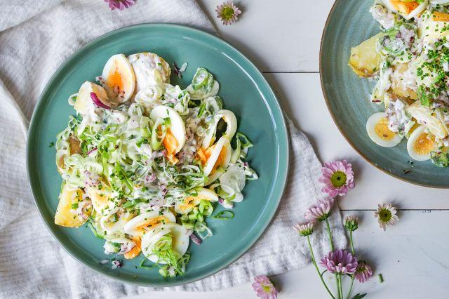 potetsalat med egg