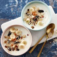Frokostblanding med yoghurt
