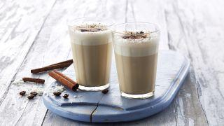 Iskaffe med kanel