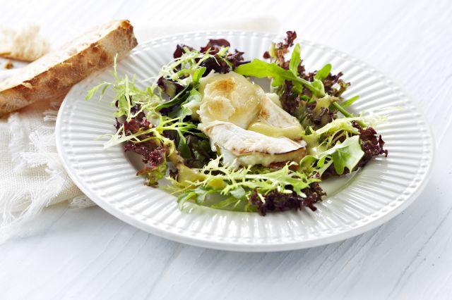 Salat med chevre