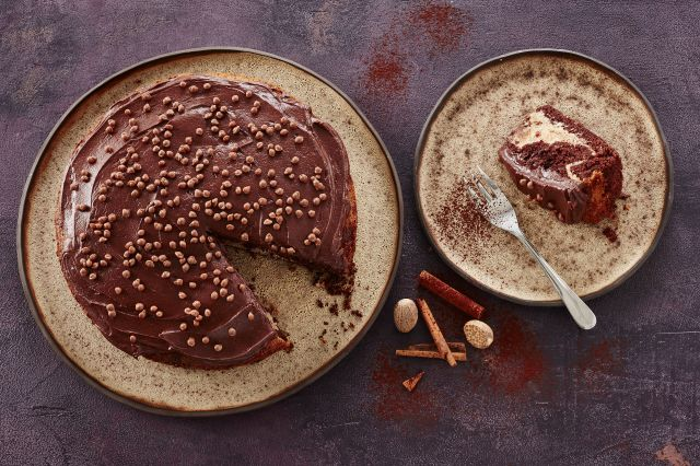 Tropisk aroma, sjokoladekake