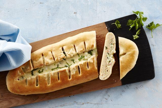 Skinke- og ostebrød