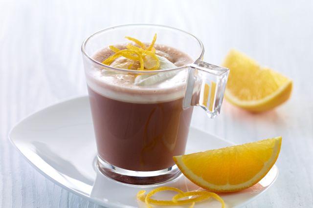 Varm sjokolade med appelsin