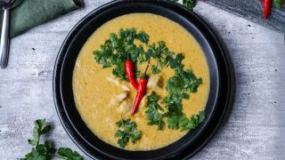 indisk kyllingsuppe