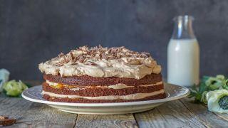 Sjokoladekake med appelsinkrem