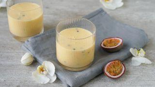 Smoothie med pasjonsfrukt og ananas