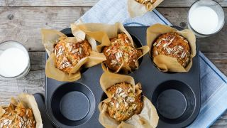 grove muffins med cottage cheese