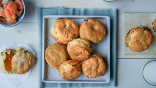 scones med tørket frukt
