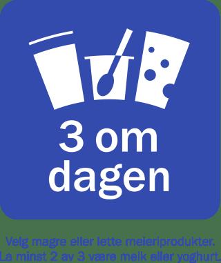 3 om dagen logo