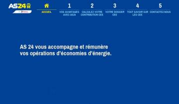 Capture du site as24-cee