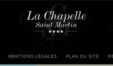 Capture du site Chapelle Saint Martin