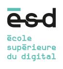 Logo de l'école Ecole supérieure du digital