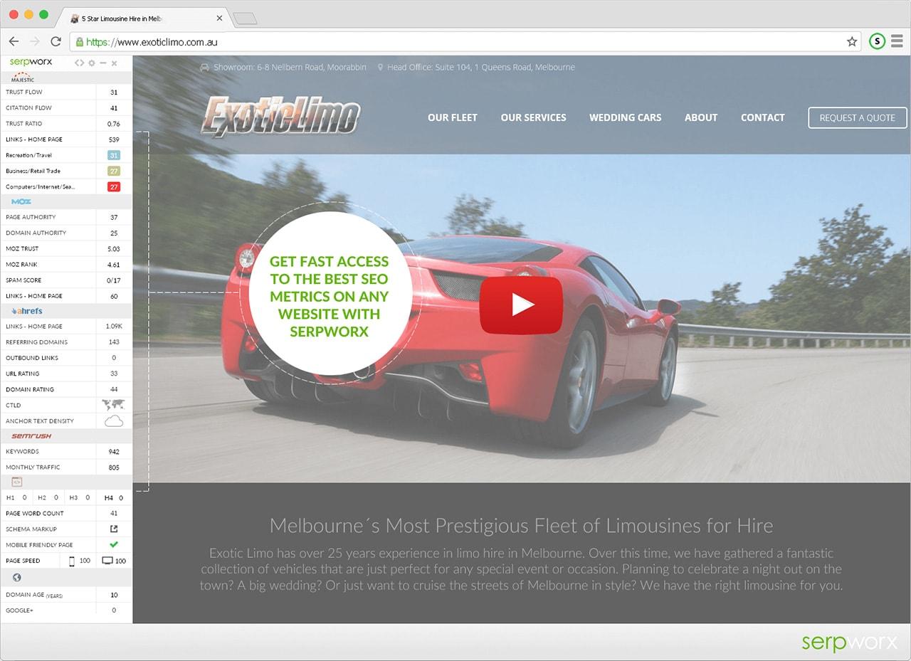 SerpWorx Site Version