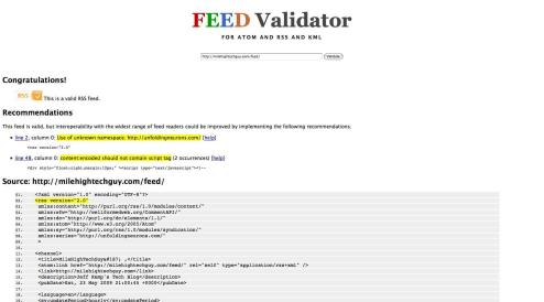 feedvalidator.org
