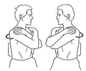 seated trunk rotation exercises