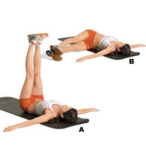 back twist exercise